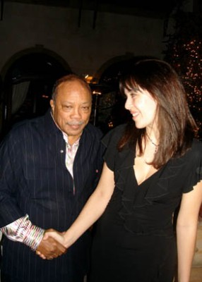 Quincy Jones Isabelle Bernal Los Angeles